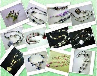 Artesanías J&E: Diseño Exclusivo de Collares y Aros