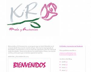 K. R. Moda y Accesorios.