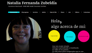 Natalia Zubeldía. Locutora Nacional.