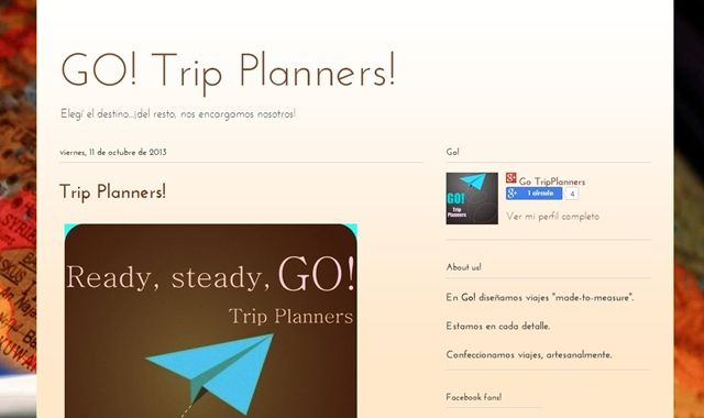 Go! Trip Planners.