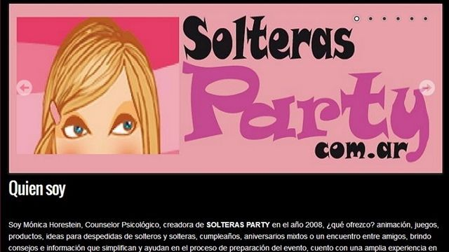 Solteras Party.
