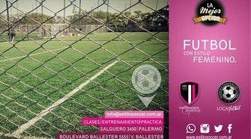 Fútbol con Estilo Femenino.