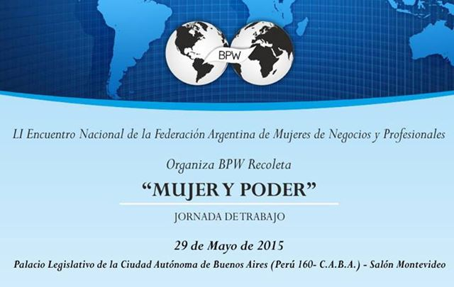 Mujer y Poder.