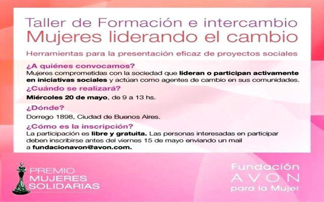 Mujeres Liderando el Cambio.