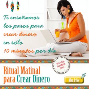 Ritual Matinal Para Crear Dinero. Octubre 2015.