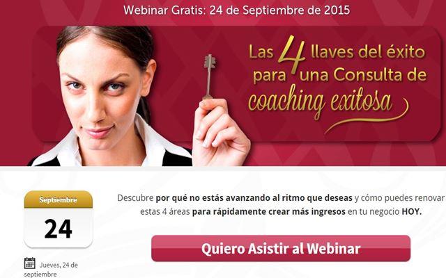 Las 4 llaves del éxito para una consulta de coaching.