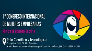 1° Congreso Internacional de Mujeres Empresarias – Gratuito – Octubre 2016